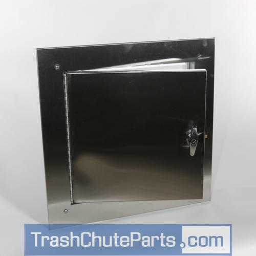 replacement laundry door with side hinge & Laundry Chute Doors - TrashChuteParts.com